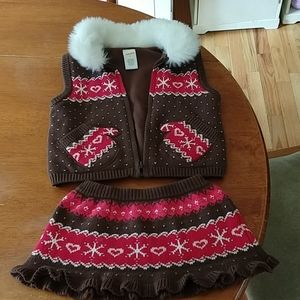 Gymboree Winter Christmas Outfit